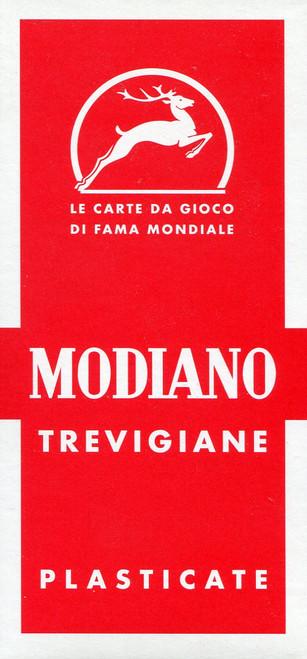 Trevigiane, 40 Cards, No. 90 Back Design