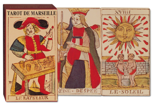 Tarot de Marseille, Piatnik