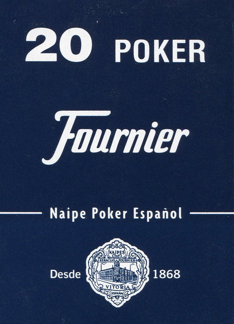 Poker Español, Blue Back