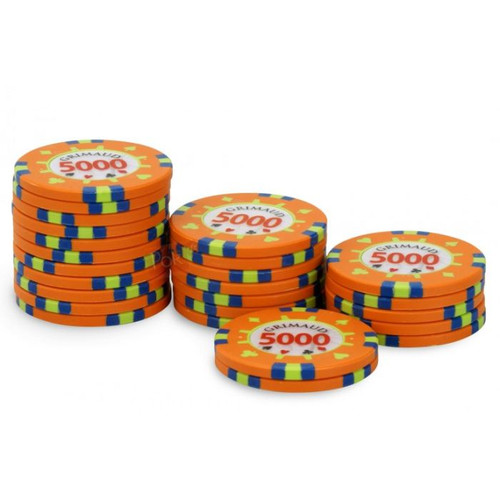 Poker Master Chips, 5000U, 25 ct