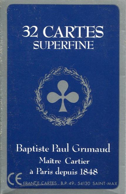 Belote Grimaud Superfine, Cellophane
