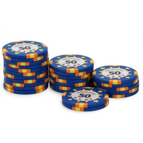 Poker Master Chips, 50U, 25 ct