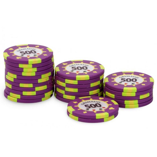 Poker Master Chips, 500U, 25 ct