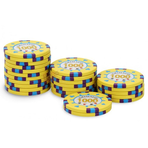 Poker Master Chips, 1000U, 25ct