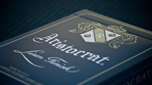 Aristocrat Poker Deck, Red