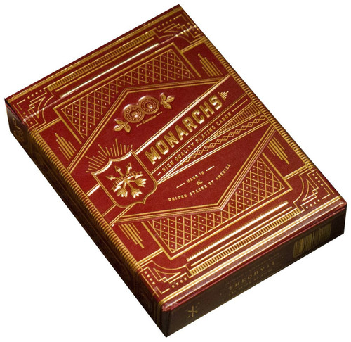 Monarchs Poker Deck, Red