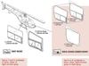 206L-1005-2 Tech-Tool Aft Door Window with Slide
