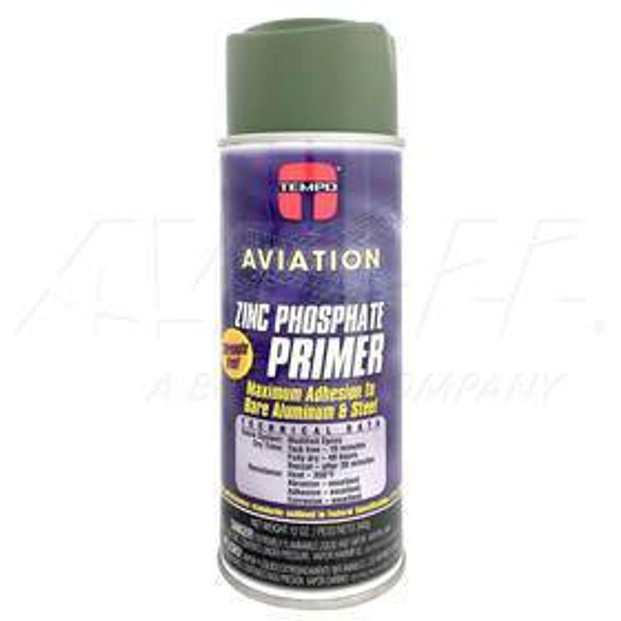 A702 Tempo Zinc Phosphate Primer Green, 12 oz
