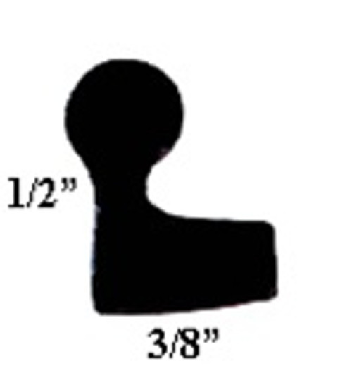 BA-430015-41 Neoprene Sponge Baggage Door Seal