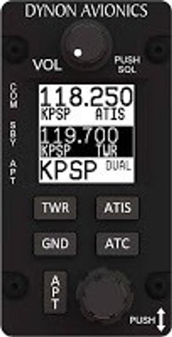 102035-000 SV-COM-C25/V SkyView VHF Com Radio 25 kHz – Vertical