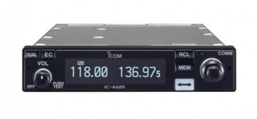 ICOM IC A220T Transceiver - Panel Mount - TSO'D