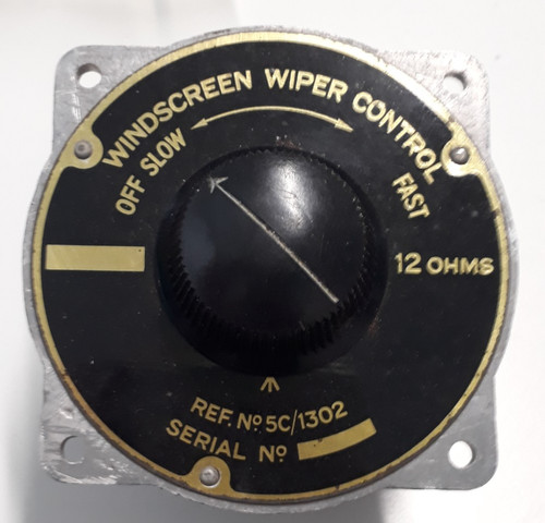 5C/1302 Windscreen Wiper Control