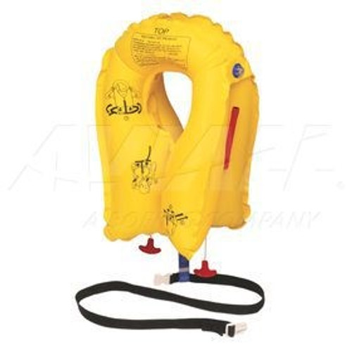P01074-101 EAM XF-35 Series Twin-Cell Life Vest Yellow, Passenger, 5 Year Inspection