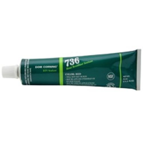 RTV736-30ZRED Dow Corning® Xiameter® Sealant 2423472 Red, 90 ml