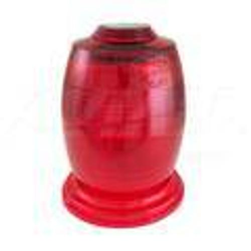 68-2170504-50 Lens, Strobe, Dome, Red