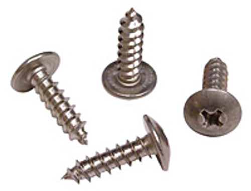 10X12THASS Sheet Metal Screw, S/S