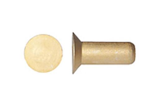 MS20426A-3-8 Solid Rivet - Aluminium, Countersunk Head