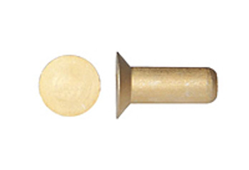 MS20426A-4-8 Solid Rivet - Aluminium, Countersunk Head