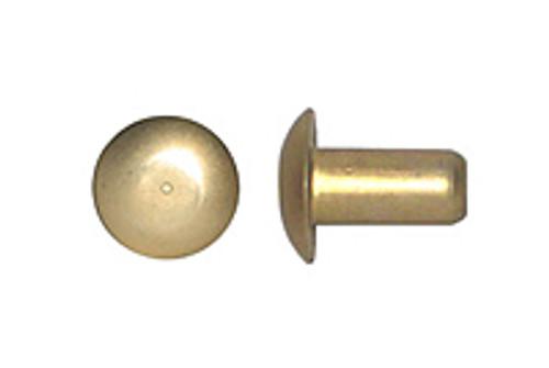 MS20470A-6-4 Solid Rivet - Aluminium, Universal Head