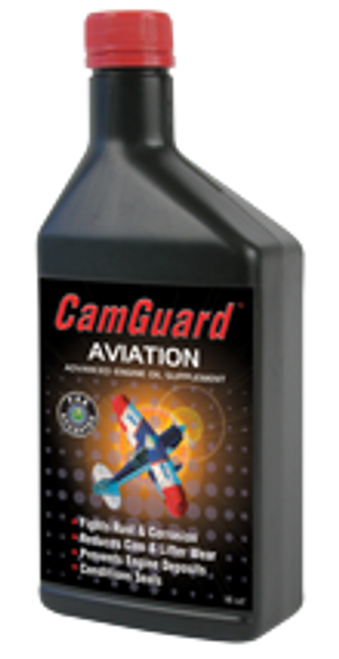 CamGuard Aviation Oil Additive 16oz