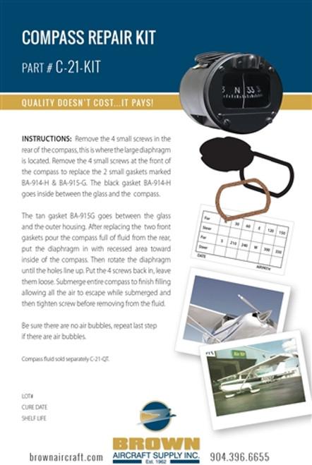 C-21-KIT Compass Repair Kit
