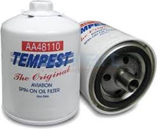 AA48110-2-6PK Tempest Oil Filter Spin-On - Six Pack