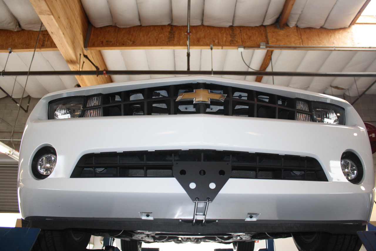 2014-2015 Chevrolet Camaro SS Sto-N-Sho Removable Take Off Front License Plate