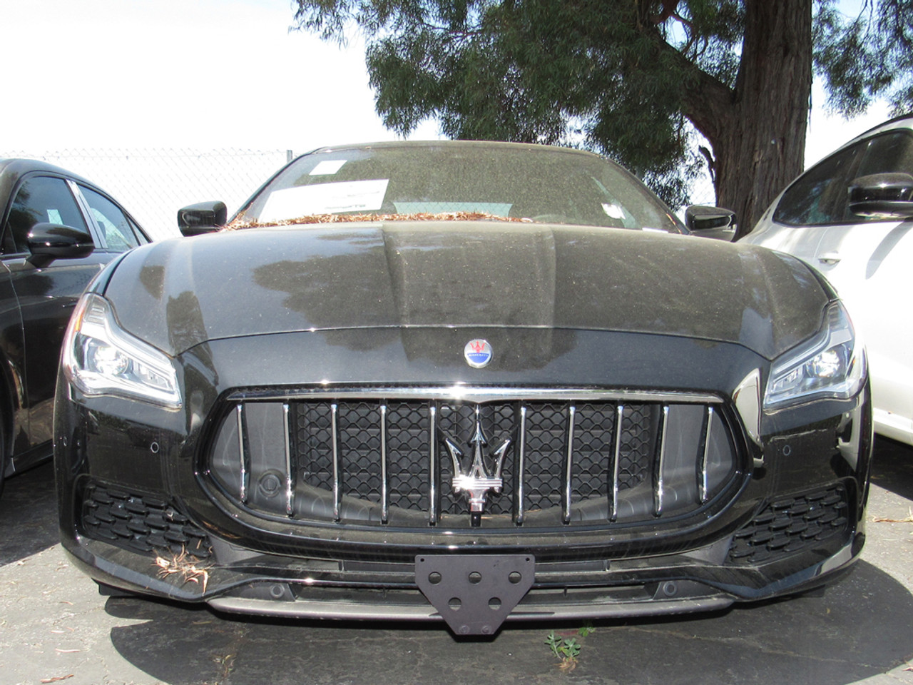 Removable Front License Plate Bracket 2012-2017 Maserati Quattroporte