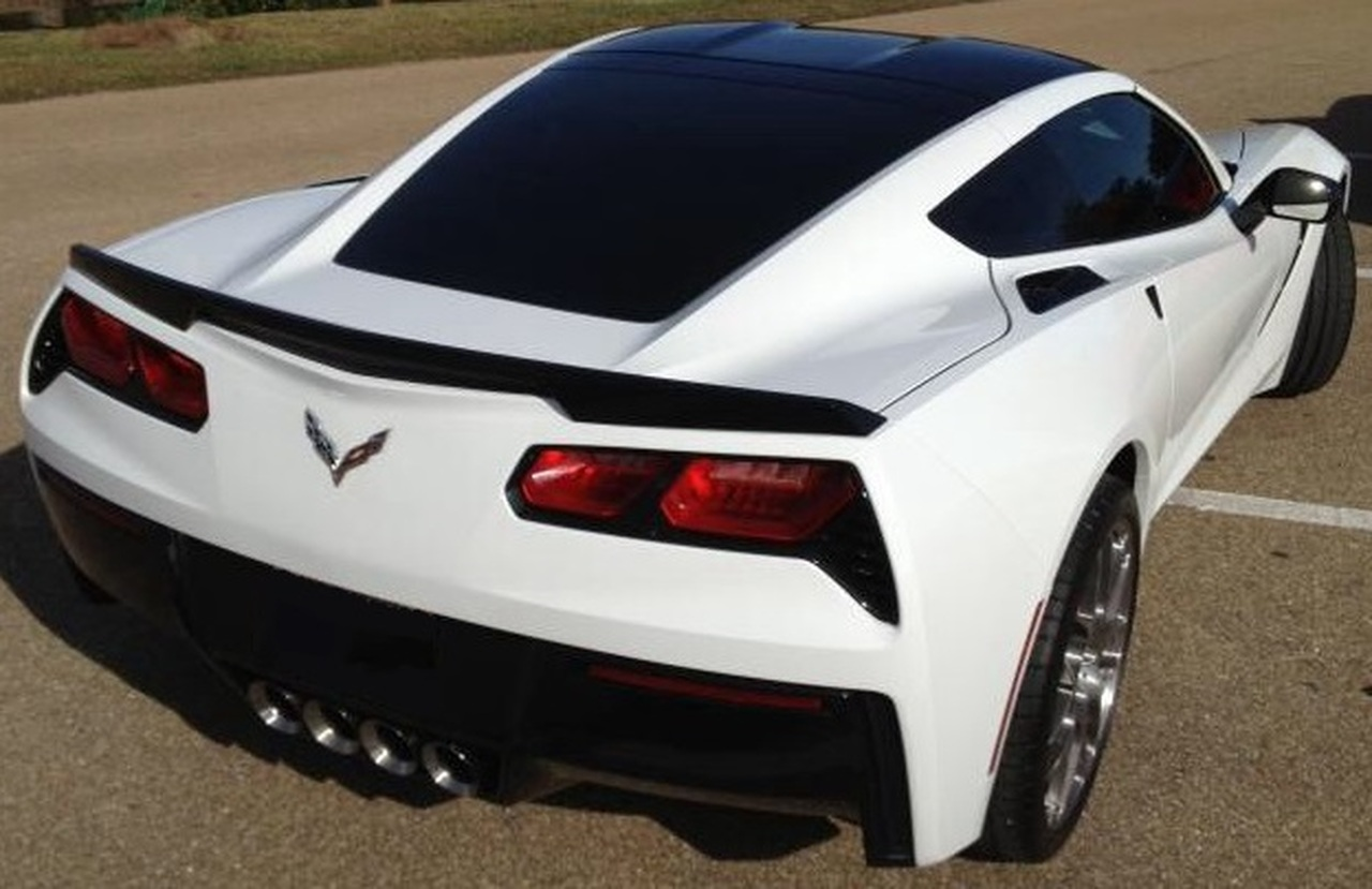 2014-2017 Corvette C7 Stingray Z51 Z06 GS Sidemarker /& Rear Reflector Blackouts