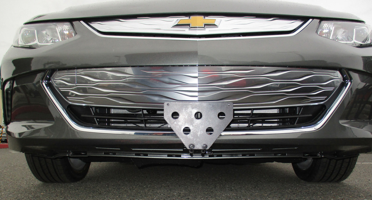Quick Release Front License Plate Bracket For Dodge Dart 2013 2014 2015 2016 NEW