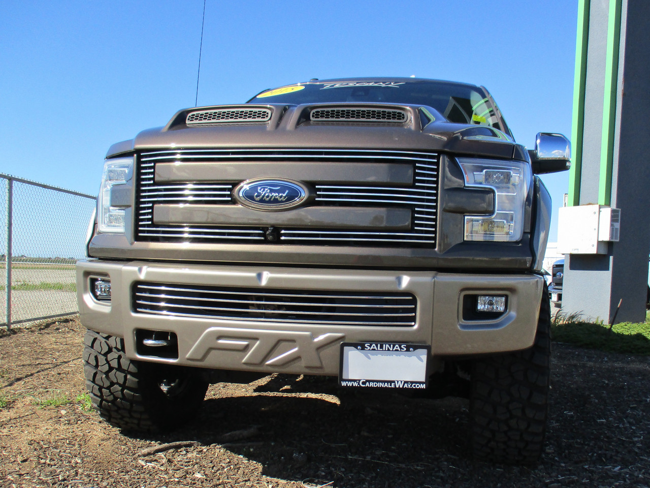 2017-2019 Ford F-150 Roush STO-N-SHO Removable Front License Plate Bracket