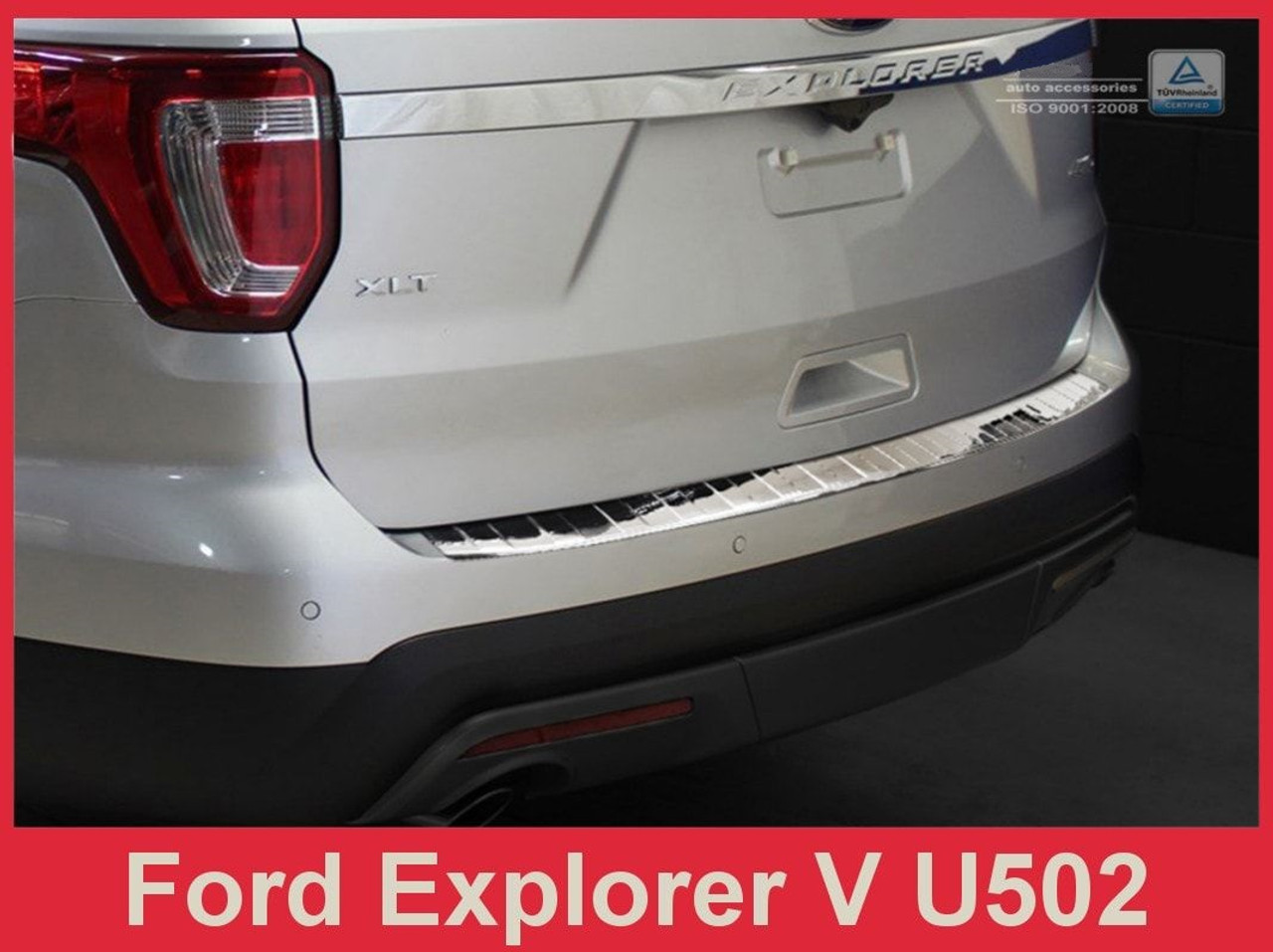 XC-70 Stainless Steel Chrome Rear Bumper Protector Scratch Guard