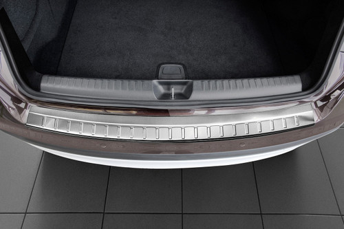 ZIC Motorsports Brushed Stainless Steel Rear Bumper Protector Guard fits 2013-2016 Mercedes E Class Wagon W212