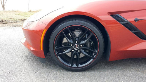 Tapeworks Red Vinyl 1//4 Wheel Rim Pin Stripes and Stripe it All Installation Tool