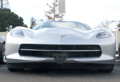 STO N SHO Front License Plate Bracket for 2016-2019 Camaro with Factory Ground Effects and 2017 50th Anniversary Edition