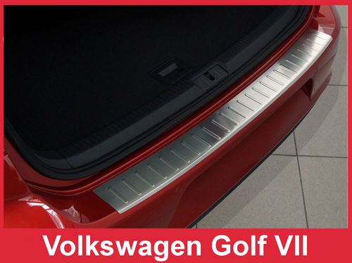2016+ VW Tiguan and ALLSPACE - Stainless Steel Rear Bumper