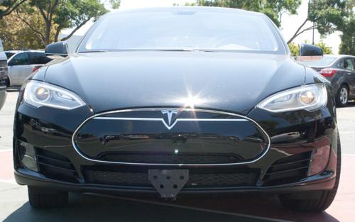 2012 2015 Tesla Model S Quick Release Front License
