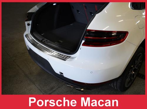 Porsche Cayenne 2nd Generation 2011-2014 Stainless Steel Rear Bumper Protector