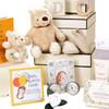 3 Tier Keepsake  Luxury Baby Gift Box Hamper Winnie The Pooh