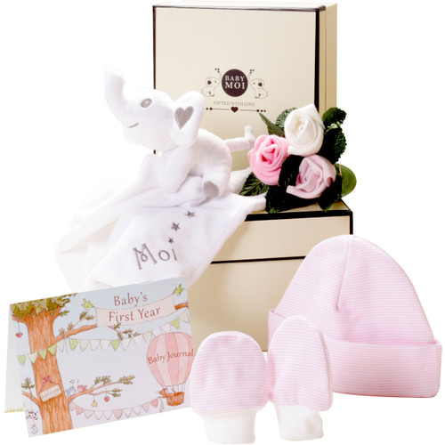 New Baby Girl Gift Set Baby Moi Elephant