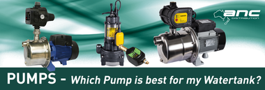 Which Pump is best for my Watertank?