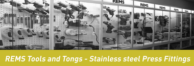REMS Tools and Tongs - Stainless steel Press Fittings – ANC Distribution