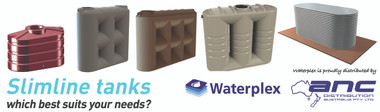 What type of slimline tank best suits your needs? Ask ANC Distribution.