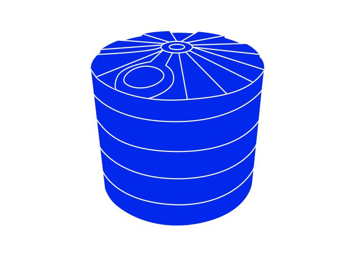 Poly Round Rainwater Tanks