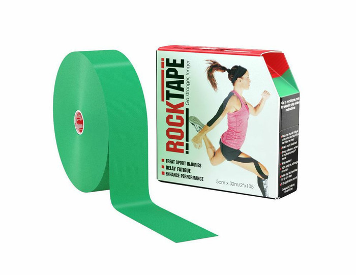 "2"" Rocktape Green - Bulk"