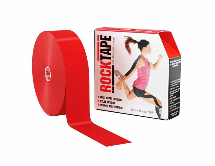 "2"" Rocktape Red - Bulk"
