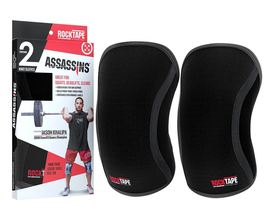 Assassins Knee Sleeves - Black