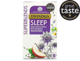 """Spiced Apple and Vanilla Flavoured Herbal Infusion with Camomile and Passionflower.  This delicious blend combining camomile, passionflowers, apple and vanilla flavourings is smooth and warming, making it the perfect part of your bedtime routine.  Take your last sip and sink your head into a soft pillow.  What does it taste like? This is a deliciously smooth and serene blend.  The apple & vanilla flavourings and the camomile bring a touch of comforting sweetness, with a dash of cinnamon-remiiniscent of apple pie with vanilla ice cream.  Great Taste 2018 Winner - """"We found both chamomile character and some toffeed notes here, mellow and soothing and enjoyable.""""  Passionflower (35%), Apple Pieces (15%), Camomile (14%), Cinnamon (10%), Natural Apple Flavouring with Other Natural Flavourings (10%), Cardamom (6%), Cloves (6%), Natural Vanilla Flavouring with other Natural Flavourings (4%).  Suitable for Vegans"""