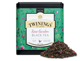 Rose flavour black tea.  Sun warms an English country garden and the air hangs heavy with the scent of a thousand roses - a moment to savour.  Twinings' master  Blenders thought so, and created a rose-flavour black tea. A blend to bring a summery pause to the afternoon.    INGREDIENTS Black Tea, Rose Petals (2%), Flavouring.