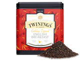 "Black tea.  Twinings"" Master Blenders sought to create the perfect English Breakfast tea.  They looked high and low, finally finding it in the golden buds of the valleys of Assam, North East India. The result is a rich and malty tea, with a bold depth of flavour that sets you up nicely for the day ahead.     INGREDIENTS Black tea."